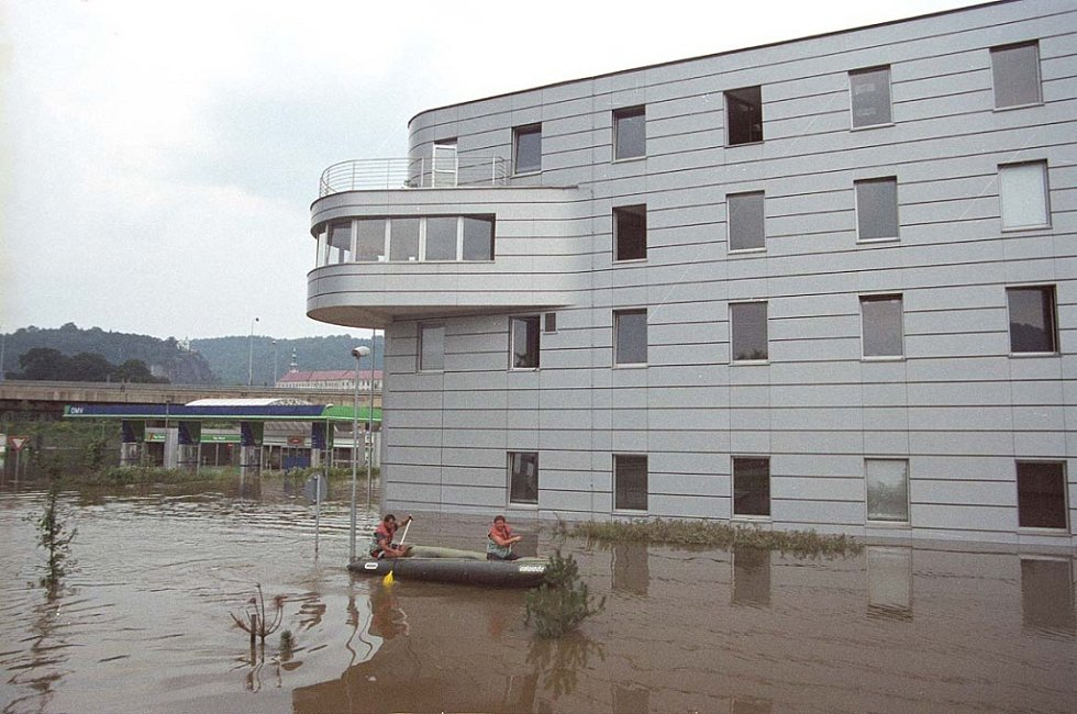 Povodně 2002 v Děčíně