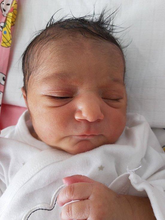 Melani Viraková se narodila mamince Ireně Virakové 12. února v 8.40 hodin. Měřila 48 cm a vážila 3 kilogramy.