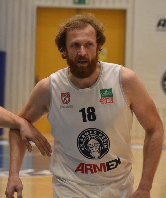 Robert Landa při ligovém utkání proti Ostravě.