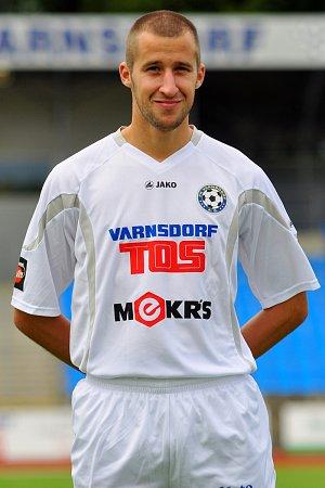 BRANKÁŘ FK Varnsdorf Radek Porcal.