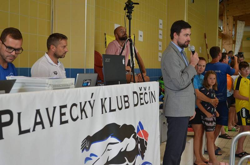 Děčínský plavecký pohár 2021.