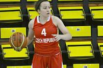 GABRIELA ANDĚLOVÁ - rozehrávačka české reprezentace do 18 let.