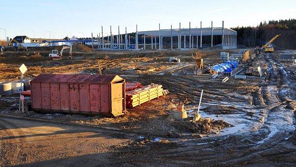Stavba výrobní haly Rumburk