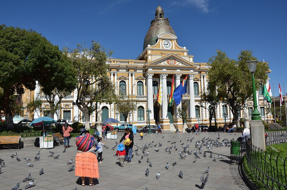 Budova bolivijského parlamentu
