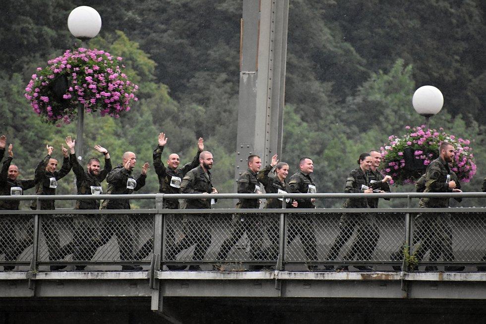 Běh solidarity v Děčíně.