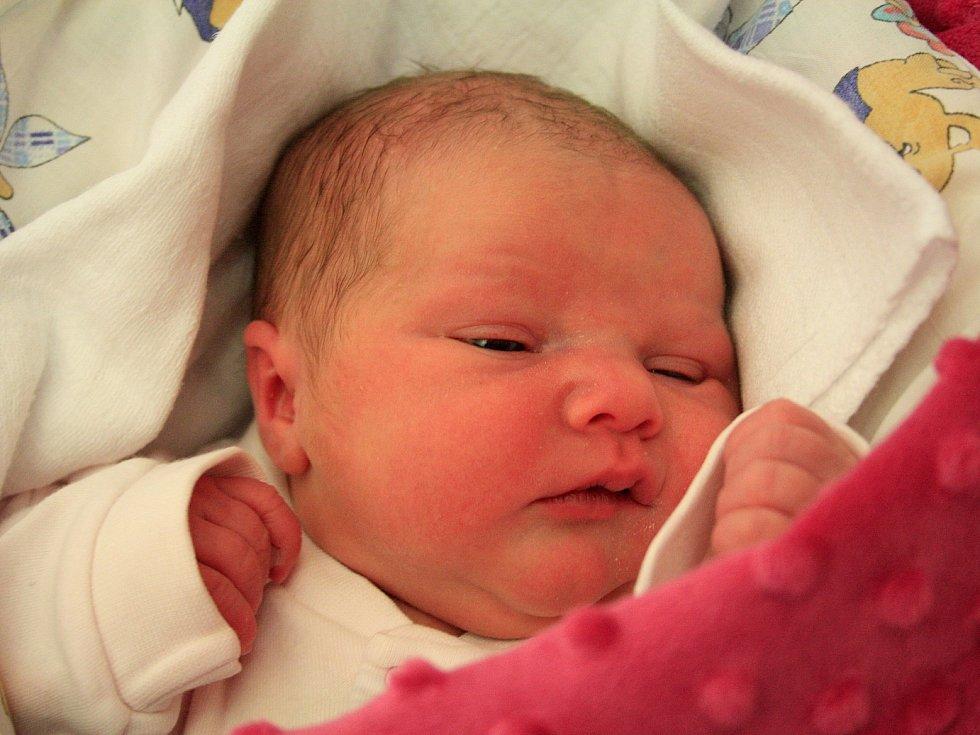 Eliška Vanišová se narodila Andree Vanišové z Děčína 4. ledna v 1.45 v děčínské porodnici. Vážila 3,5 kg.