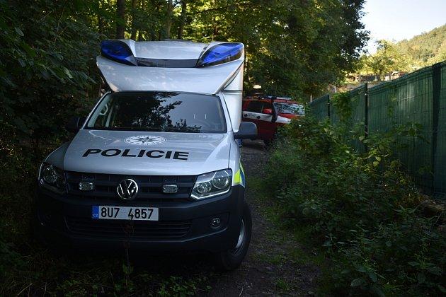 Pod Pastýřskou stěnou vDěčíně našli mrtvou ženu.