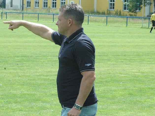 TRENÉR PAVEL MOKRÁČEK zažívá z Českou Kamenicí opravdu dobrý start.
