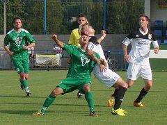 Fotbal ve Vilémově. Ilustrační foto.