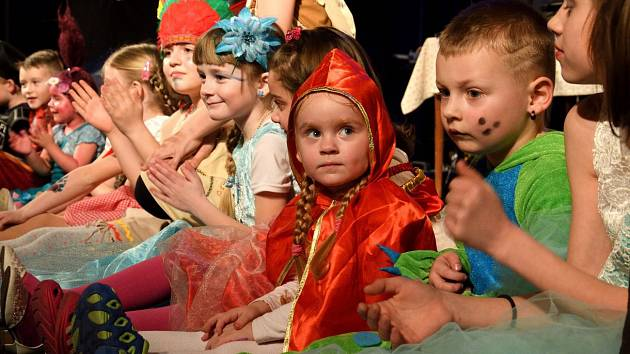 Dětský karneval v Krásné Lípě.