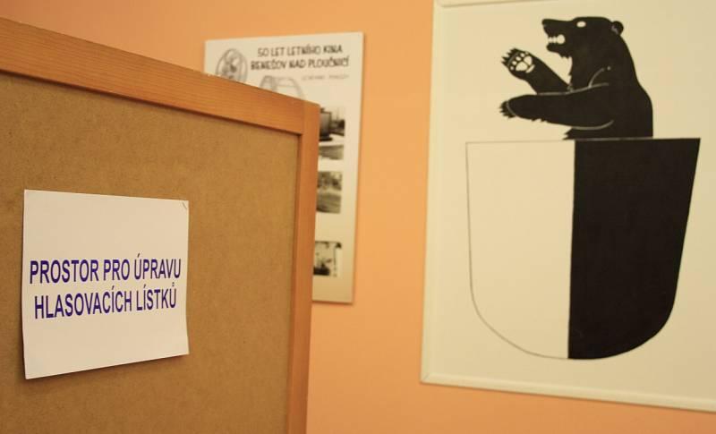 Volby 2014 v Benešově nad Ploučnicí.