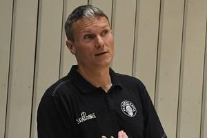Tomáš Grepl, trenér BK ARMEX Děčín.