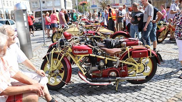 Sraz majitelů a milovníků motocyklů Böhmerland na Šluknovsku