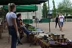V zahradách děčínského zámku se konaly Africké trhy.