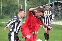 REMÍZA. V derby utkání Dobkovice remizovaly s Malšovicemi, na penalty pak ale zvítězily.