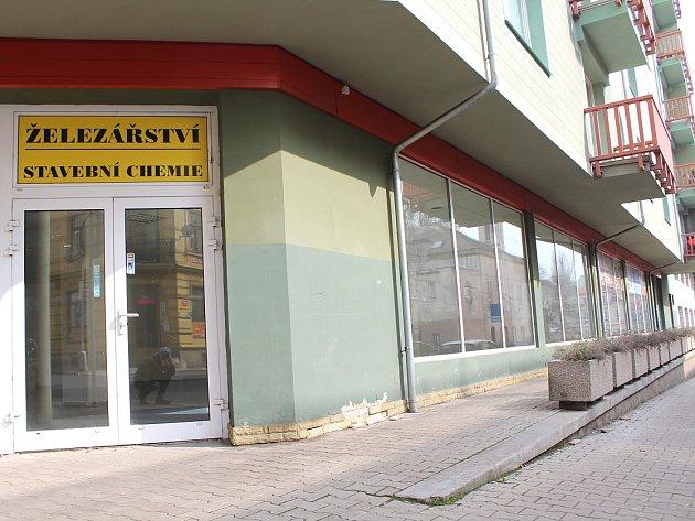 Tady bude v Děčíně nová pobočka knihovny.