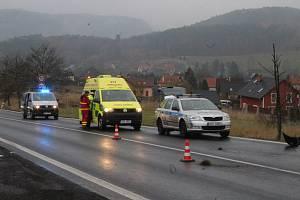 Dopravní nehoda v Ludvíkovicích. Ilustrační fotografie.