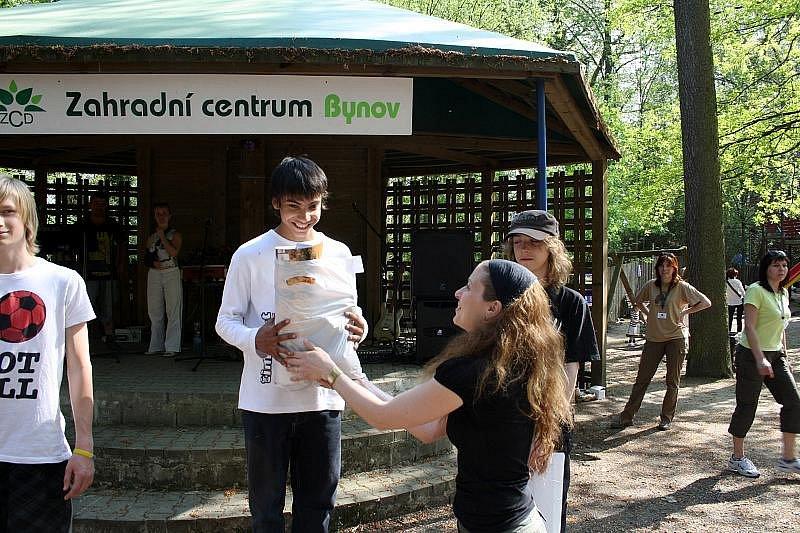 Den Země oslavili také v děčínské zoologické zahradě.