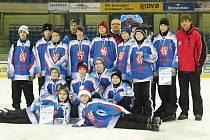 Děčínský tým na turnaji v Drážďanech.