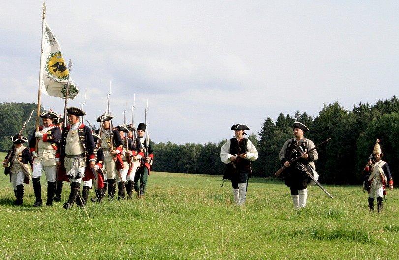 Rekontrukce bitvy pod Studencem