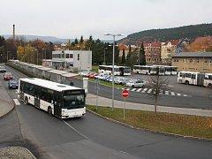 Dopravní podnik v Děčíně. Ilustrační foto.
