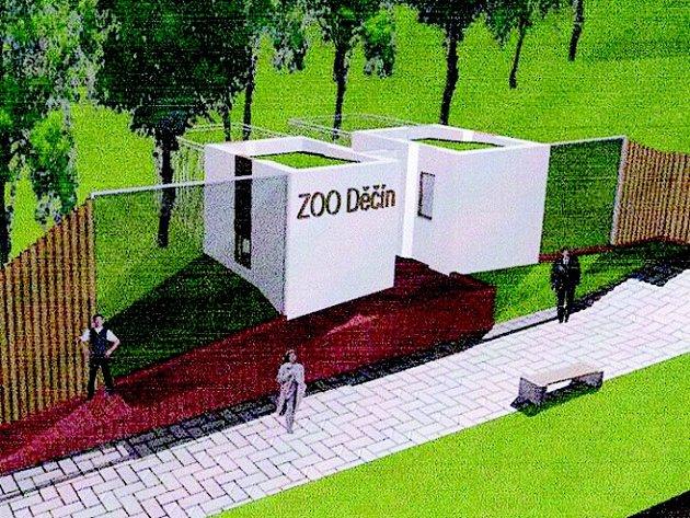 Takto by měly nové pavilony v děčínské zoologické zahradě v budoucnu vypadat.