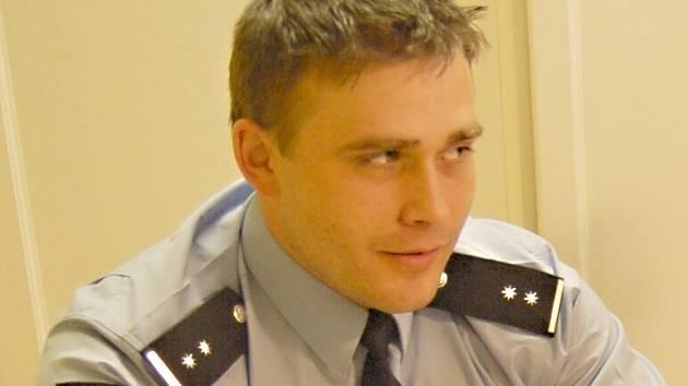 Děčínský policejní mluvčí Ladislav Cvik