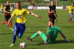 PORÁŽKA. Fotbalisté Varnsdorfu doma prohráli s Opavou 1:2.