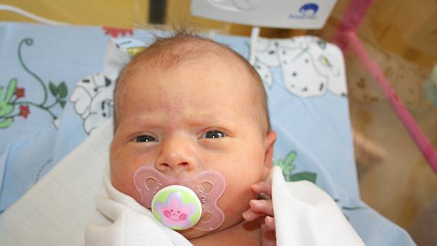 Martině Štěrbové z Děčína se 5. března v 8.45 narodila v děčínské nemocnici dcera Eliška Štěrbová. Měřila 54 cm a vážila 3,54 kg.