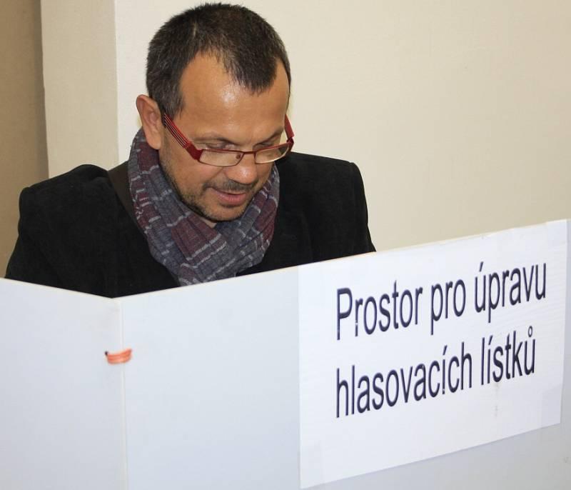 Volby 2014 na Střední škole řemesel a služeb Ruská.