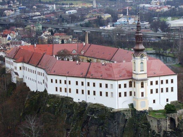 Děčínský zámek - Ilustrační foto