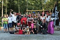Děčínskou zoo obsadili piráti.