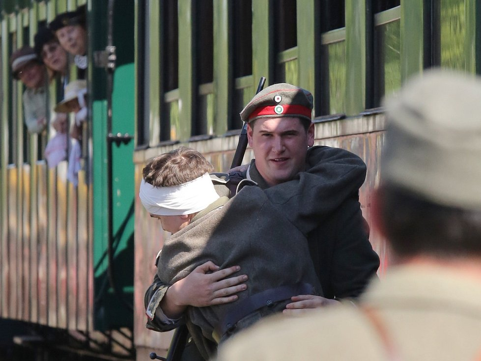V Krásné Lípě proběhla vzpomínková akce ke stoletému výročí Rumburské vzpoury vojáků.