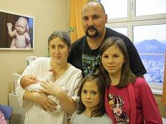 Šárce a Zdeňku Macháčkovým z Děčína se 19. ledna v 8.14 v děčínské porodnici narodila dcera Leontýnka. Měřila 47 cm a vážila 3,40 kg.