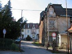 Budova nemocnice Podhájí Rumburk.