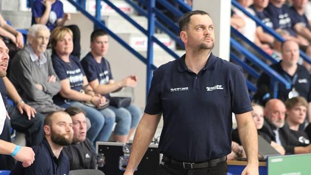 PAVEL BUDÍNSKÝ - trenér BK ARMEX Děčín.