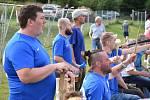 Šluknov (v modrém) vyhrál na půdě Libouchce 2:0.