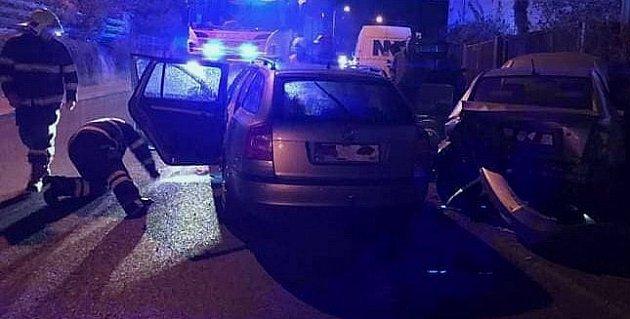 Nehoda vBenešově.