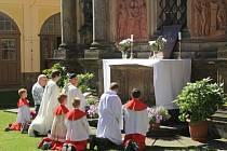 Odpustková slavnost Porciunkule v Loretě Rumburk.