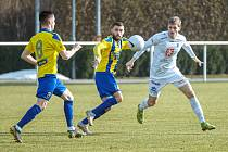 Fotbalisté Varnsdorfu zvládli generálku, Hradec Králové porazili 1:0.