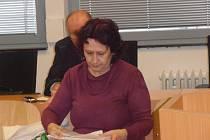 Irena Pravdová z Jílového – Modrá u soudu.