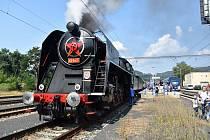 Děčínskem a Českolipskem v sobotu 21. srpna jezdí parní vlak