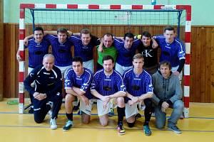 VÍTĚZ KRAJSKÉHO POHÁRU, tým Futsal Varnsdorf, se může těšit na národní finále ve Zlíně.