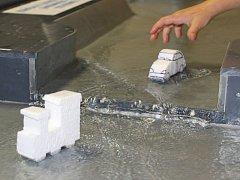 Děčínské muzeum láká na novou výstavu s modelem řeky.