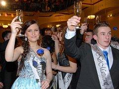 Maturitní ples Evropské obchodní akademie 2015.