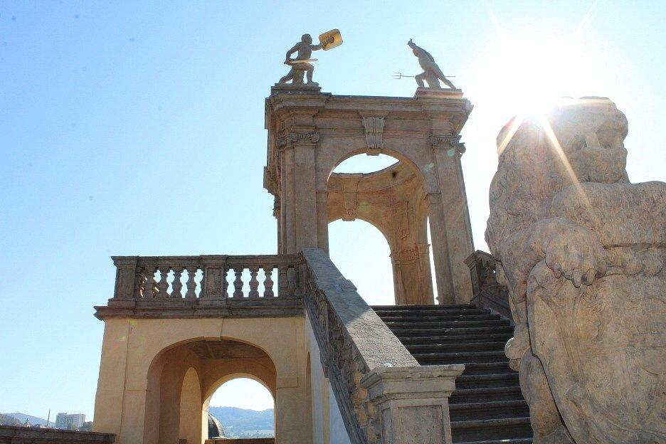 Gloriet u děčínského zámku prošel kompletní renovací, práce trvaly více než rok.