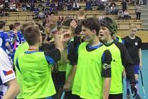 VELKÝ ÚSPĚCH . Starší žáci FBC DDM Děčín brali na republikovém mistrovství skvělé páté místo.