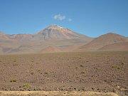 Poušť Atacama.