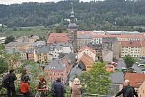 Vyhlídka nad Bad Schandau.