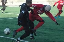 OBHÁJCE PRVENSTVÍ z Vilémova (v černém) porazila FK Ústí n. L. U 19 8:0.